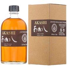 Akashi Single malt Sherry cask  0.5l